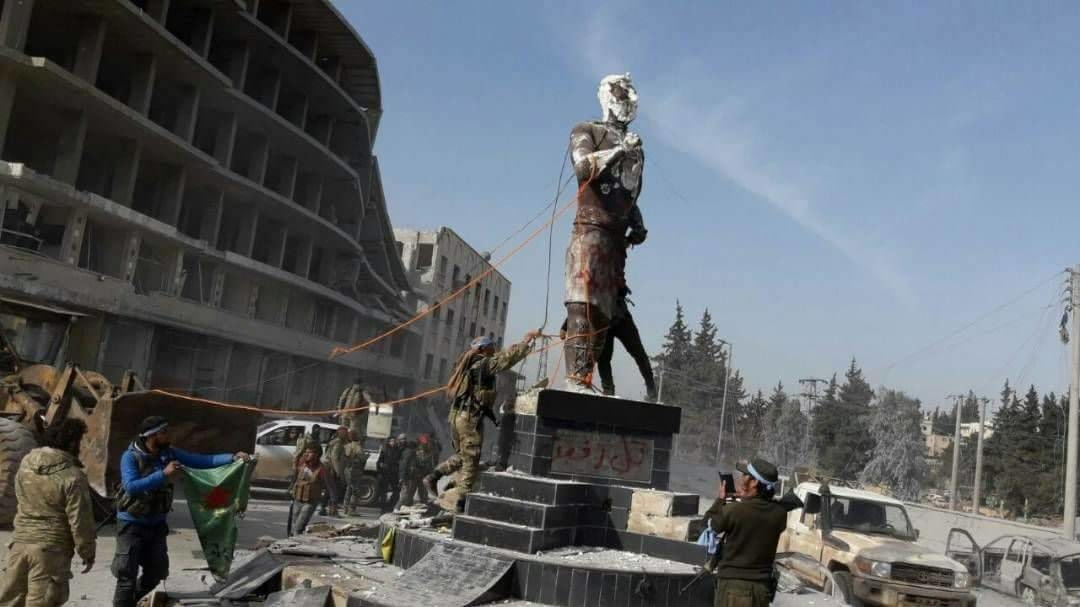 Why the destruction of Kawa's statue in Afrin matters
